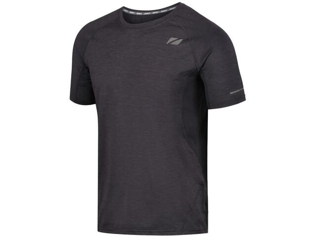 Zone3 Power Burst Camiseta Hombre, charcoal marl/gun metal